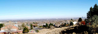 Clear skys over South Platte Valley